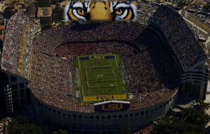 Death Valley, LSU Tiger stadium